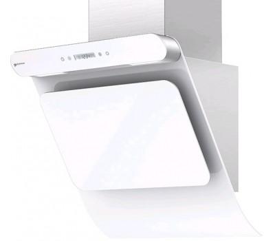 Вытяжка каминная Shindo Arktur 60 W/WG 3ETC нержавеющая сталь/белое стекло управление: сенсорное (1
