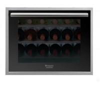 Винный шкаф встраиваемый Hotpoint-Ariston WL 24 A/HA серебристый