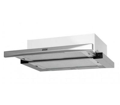 Вытяжка встраиваемая Krona Kamilla 600 mirror нержавеющая сталь/белый управление: кнопочное (2 мотор