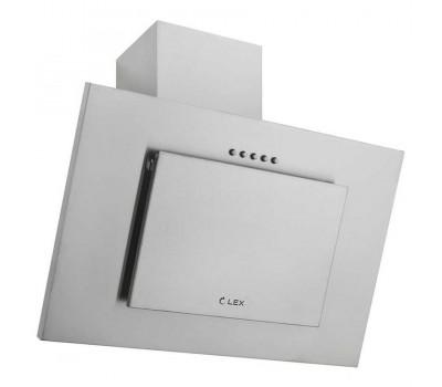 Наклонная кухонная вытяжка Lex Mini S 500 нержавеющая сталь