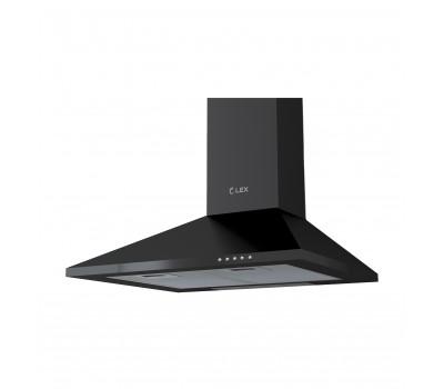 Купольная кухонная вытяжка Lex Basic 600 черный