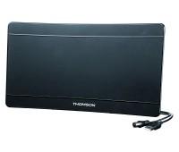 Антенна телевизионная Thomson ANT1706 43дБ активная черный каб.:1.4м