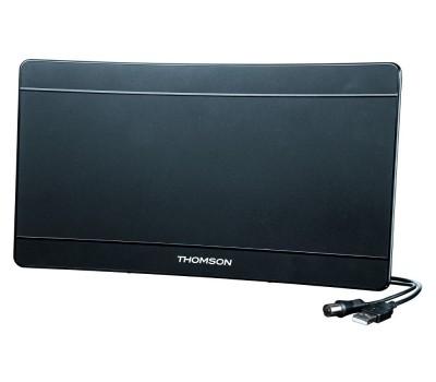 Антенна телевизионная Thomson ANT1706 43дБ активная черный каб.:1.4м купить недорого с доставкой