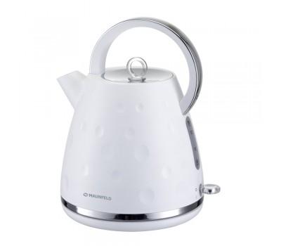 Электрический чайник MAUNFELD MFK-647 WH купить недорого с доставкой, в нашем интернет магазине