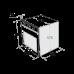 Электрический духовой шкаф MAUNFELD MEOH 6711 W белый купить недорого с доставкой, в нашем интернет магазине