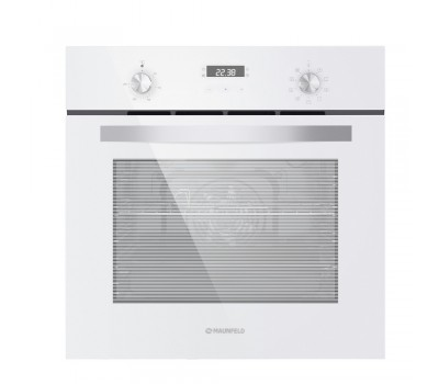 Электрический духовой шкаф MAUNFELD EOEM.589 W белый купить недорого с доставкой, в нашем интернет магазине
