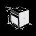 Электрический духовой шкаф MAUNFELD MEOF 676 B черный купить недорого с доставкой, в нашем интернет магазине