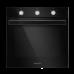 Электрический духовой шкаф MAUNFELD EOEF.766B черный купить недорого с доставкой, в нашем интернет магазине