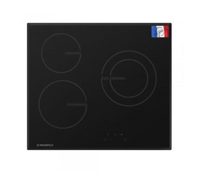 Стеклокерамическая панель MAUNFELD MVCE59.3HL.1DZ.R-BK черный купить недорого с доставкой, в нашем интернет магазине