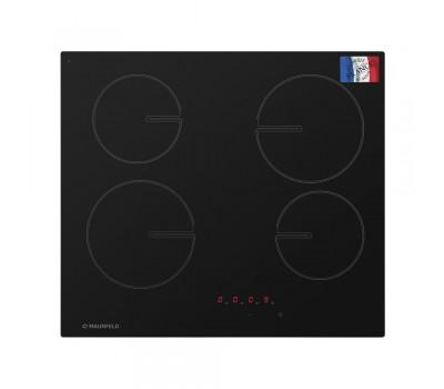 Стеклокерамическая панель MAUNFELD MVSE59.4HL-BK черный купить недорого с доставкой