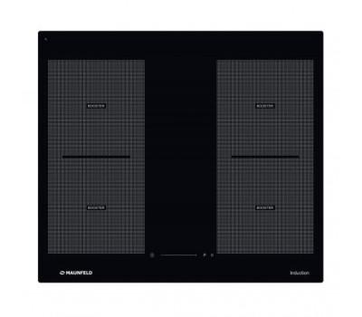 Индукционная панель MAUNFELD MVI59.2FL-BK черный купить недорого с доставкой, в нашем интернет магазине