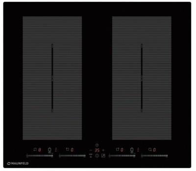Индукционная панель MAUNFELD EVI.594.FL2(S)-BK черный купить недорого с доставкой, в нашем интернет магазине