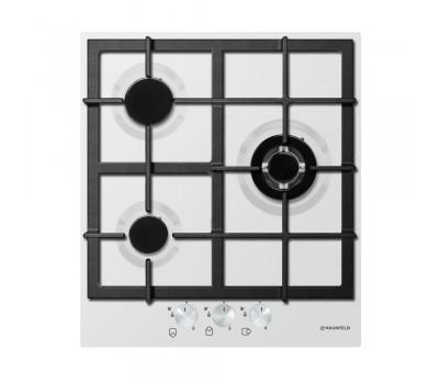 Варочная панель MAUNFELD EGHE.43.33CW/G белый купить недорого с доставкой, в нашем интернет магазине