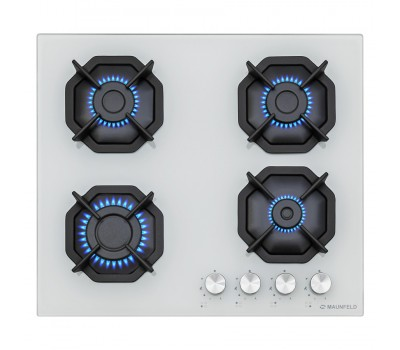 Варочная панель MAUNFELD EGHG.64.2CW/G белый купить недорого с доставкой, в нашем интернет магазине