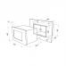 Микроволновая печь MAUNFELD MBMO.20.5S нержавеющая сталь купить недорого с доставкой