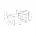 Микроволновая печь MAUNFELD MBMO.25.8S нержавеющая сталь купить недорого с доставкой, в нашем интернет магазине