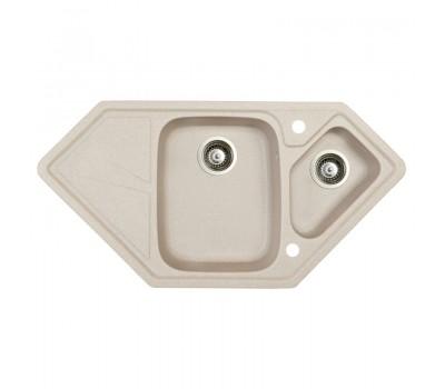 Кухонная мойка Marmorin Torro Grey1.5 чаши трапециевидная мойка со сливной полкой 220 613 007 купить недорого с доставкой, в нашем интернет магазине