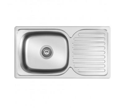 Кухонная мойка Matteo E302A из нержавеющей стали купить недорого с доставкой, в нашем интернет магазине