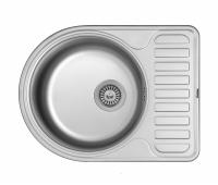 Кухонная мойка Matteo F-5844 из нержавеющей стали