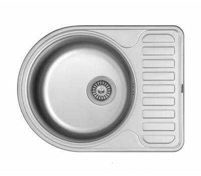 Кухонная мойка Matteo F-5844 из нержавеющей стали купить недорого с доставкой, в нашем интернет магазине