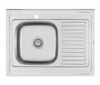 Кухонная мойка Matteo F-6080 LQ из нержавеющей стали