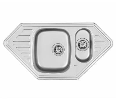 Кухонная мойка Matteo F-9550C из нержавеющей стали купить недорого с доставкой, в нашем интернет магазине
