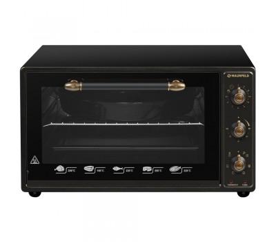 Мини-печь электрическая MAUNFELD СEMOA.456.RBG черный купить недорого с доставкой, в нашем интернет магазине