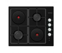 Варочная панель MAUNFELD EEHE.64.5EB/KG черный