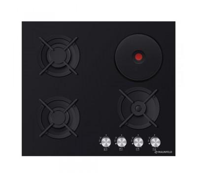Варочная панель MAUNFELD EEHG.64.13CB.KG черный купить недорого с доставкой, в нашем интернет магазине