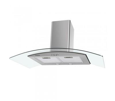 Кухонная вытяжка MAUNFELD Ancona PlusA 90 нержавеющая сталь\прозрачное стекло купить недорого с доставкой, в нашем интернет магазине