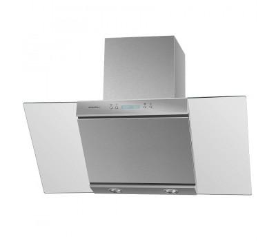 Кухонная вытяжка MAUNFELD Gloria 90 нержавеющая сталь/прозрачное стекло купить недорого с доставкой, в нашем интернет магазине