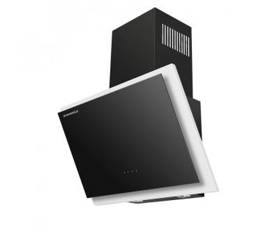 Кухонная вытяжка MAUNFELD Tower Touch 60 белый/черное стекло купить недорого с доставкой, в нашем интернет магазине