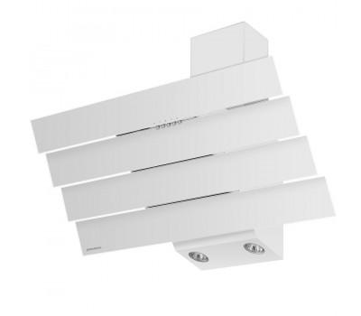 Кухонная вытяжка MAUNFELD Cascada Quart 90 белый купить недорого с доставкой, в нашем интернет магазине