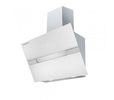 Кухонная вытяжка MAUNFELD Mersey 60 нержавеющая сталь\белое стекло купить недорого с доставкой, в нашем интернет магазине