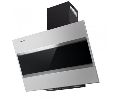 Кухонная вытяжка MAUNFELD BRIDGE 50 нержавеющая сталь\черное стекло купить недорого с доставкой, в нашем интернет магазине