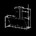 Кухонная вытяжка MAUNFELD Dream 60 графитовое стекло купить недорого с доставкой, в нашем интернет магазине