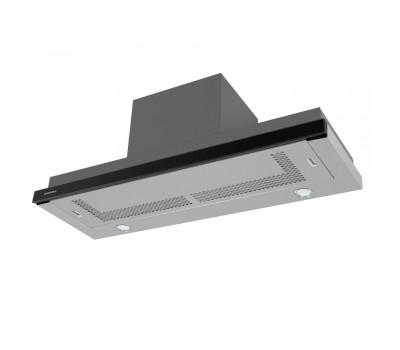 Кухонная вытяжка MAUNFELD VS LIGHT (GLASS) 90 (C) черный купить недорого с доставкой, в нашем интернет магазине