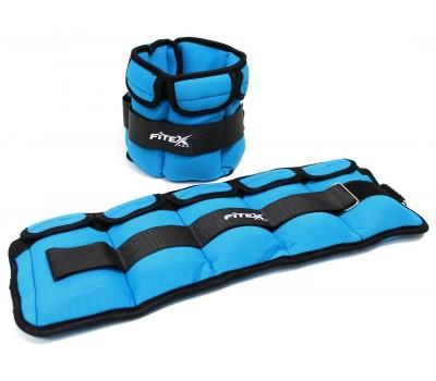 Утяжелитель для ног 3 кг (2 шт. - пара) FITEX PRO купить недорого с доставкой