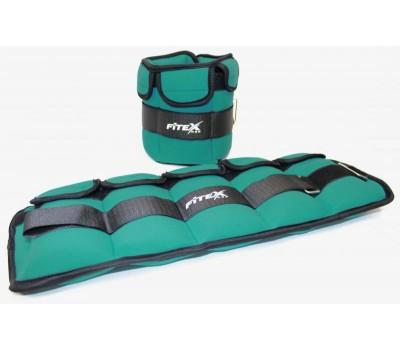 Утяжелитель  для ног 2,5 кг (2 шт. - пара) FITEX PRO купить недорого с доставкой