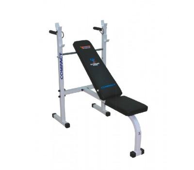 Скамейка атлетическая (жим штанги горизонтальный и вверх, брусья) купить недорого с доставкой