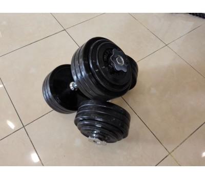 Гантели тренировочные. 20 кг ( 2 шт. - пара ) купить недорого с доставкой