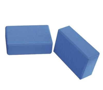 Блок для йоги синий FITEX PRO купить недорого с доставкой
