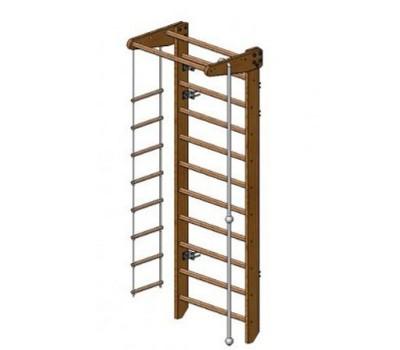 Деревянная шведская лестница Казак купить недорого с доставкой