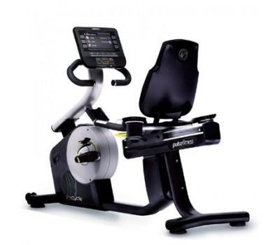 Горизонтальный велотренажер Pulse Fitness FUSION купить недорого с доставкой