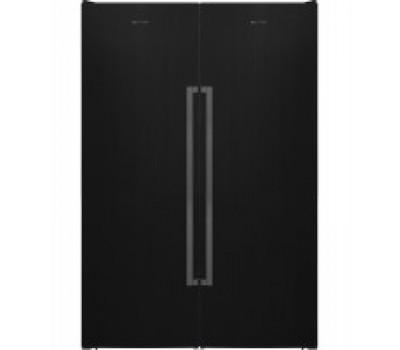 Холодильник Vestfrost VF395-1 F SB BH черный (NoFrost) купить недорого с доставкой