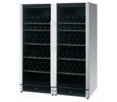 Винный шкаф Vestfrost WSBS 155 Side by Side серебрянный купить недорого с доставкой