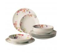 Набор тарелок Villeroy & Boch Flower Meadow Vivo 12 предметов
